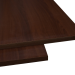 Dark Walnut MDF 1200 X 2400 mm