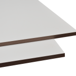 White MDF 1200 X 2400 mm