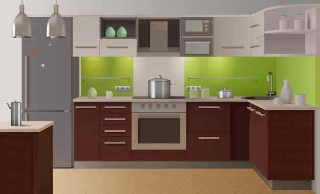 Custom Kitchen Cabinet Wardrobes Meru Timber
