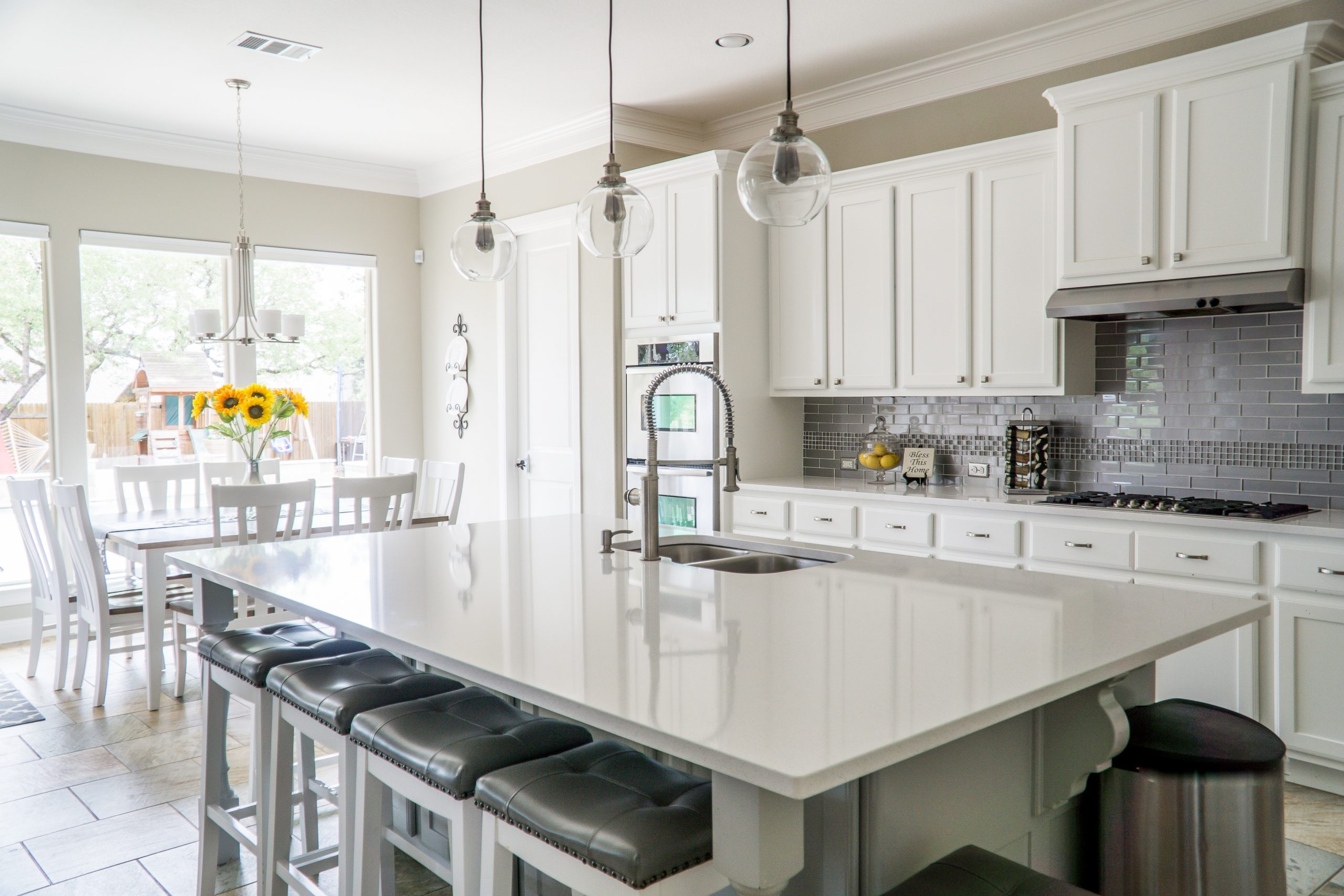 kitchen cabinets with highland