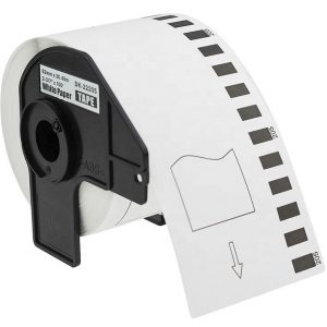 Labels for Brother Printer | Continuous Length Paper Tape | DK-22205 62mm x 30.48m