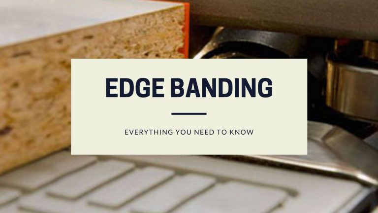 Edge banding and lipping