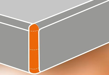 corner rounding in edge banding